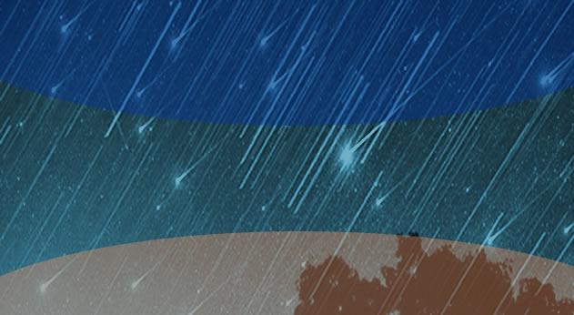 Η θερινή βροχή των διαττόντων Περσείδων