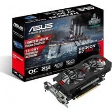 ASUS VGA R7 360, R7360-OC-2GD5, 2048MB, GDDR5