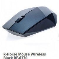R-Horse Mouse Wireless Black RF-6370