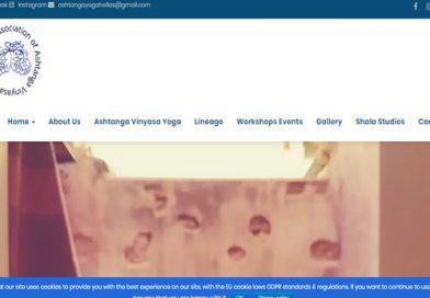 Νέα ιστοσελίδα για λογαριασμό της Association of Ashtanga Vinyasa Yoga Greece