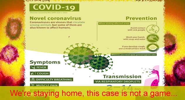 Μερική Αναστολή δραστηριοτήτων μέχρι 30 Μαρτίου λόγω ΠΝΠ για COVID-19