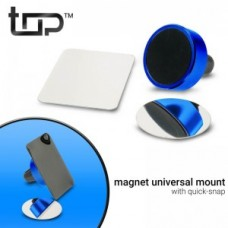 Universal Magnetic Phone Holder Blue